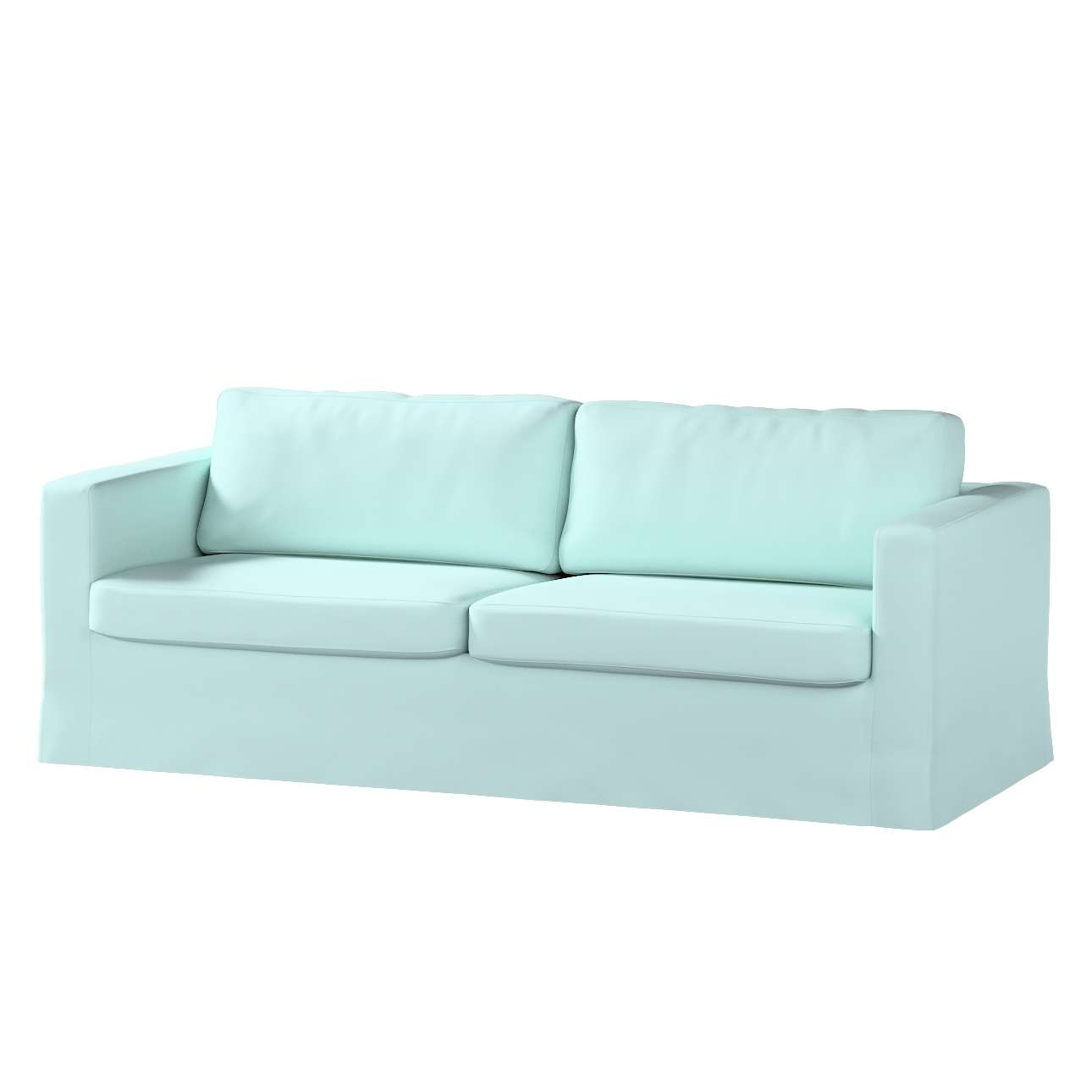 Potah na pohovku IKEA  Karlstad 3-místná, nerozkládací, dlouhý v kolekci Cotton Panama, látka: 702-10