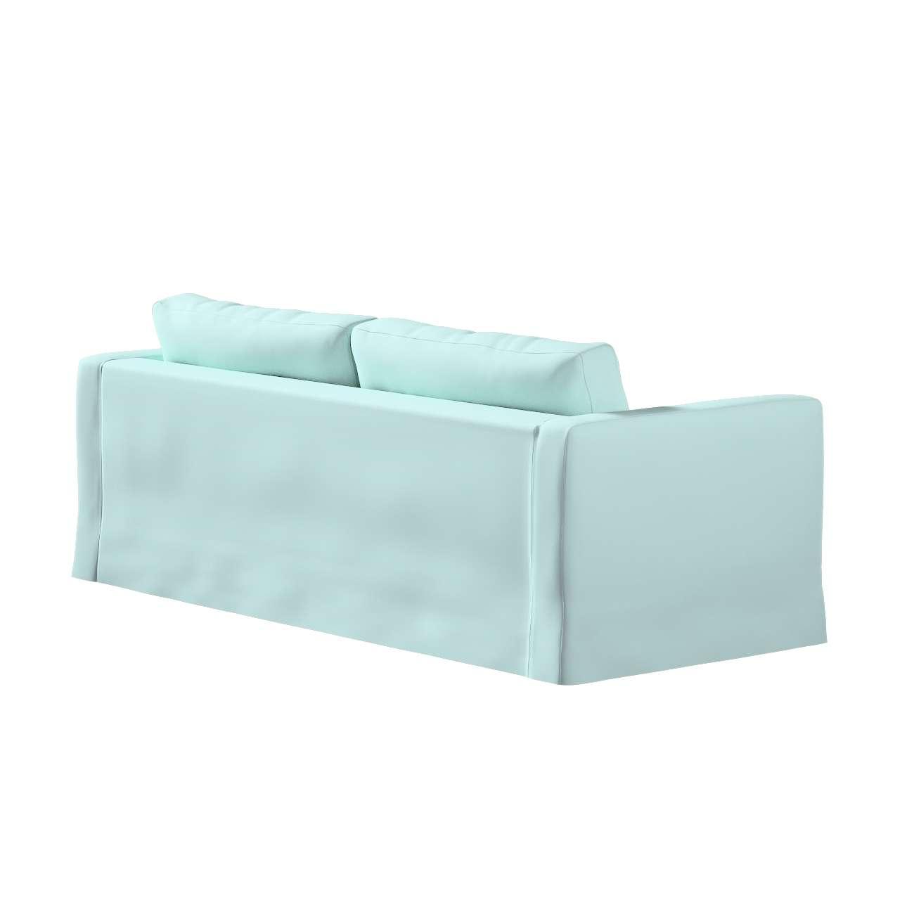 Poťah na sedačku Karlstad (nerozkladá sa, pre 3 osoby, dlhá) V kolekcii Cotton Panama, tkanina: 702-10