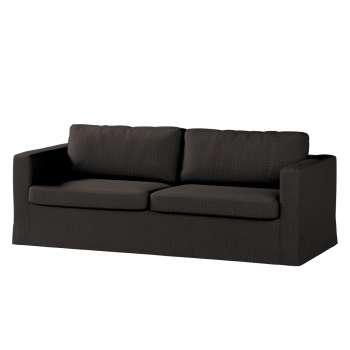 Pokrowiec na sofę Karlstad 3-osobową nierozkładaną, długi Sofa Karlstad 3-osobowa w kolekcji Vintage, tkanina: 702-36