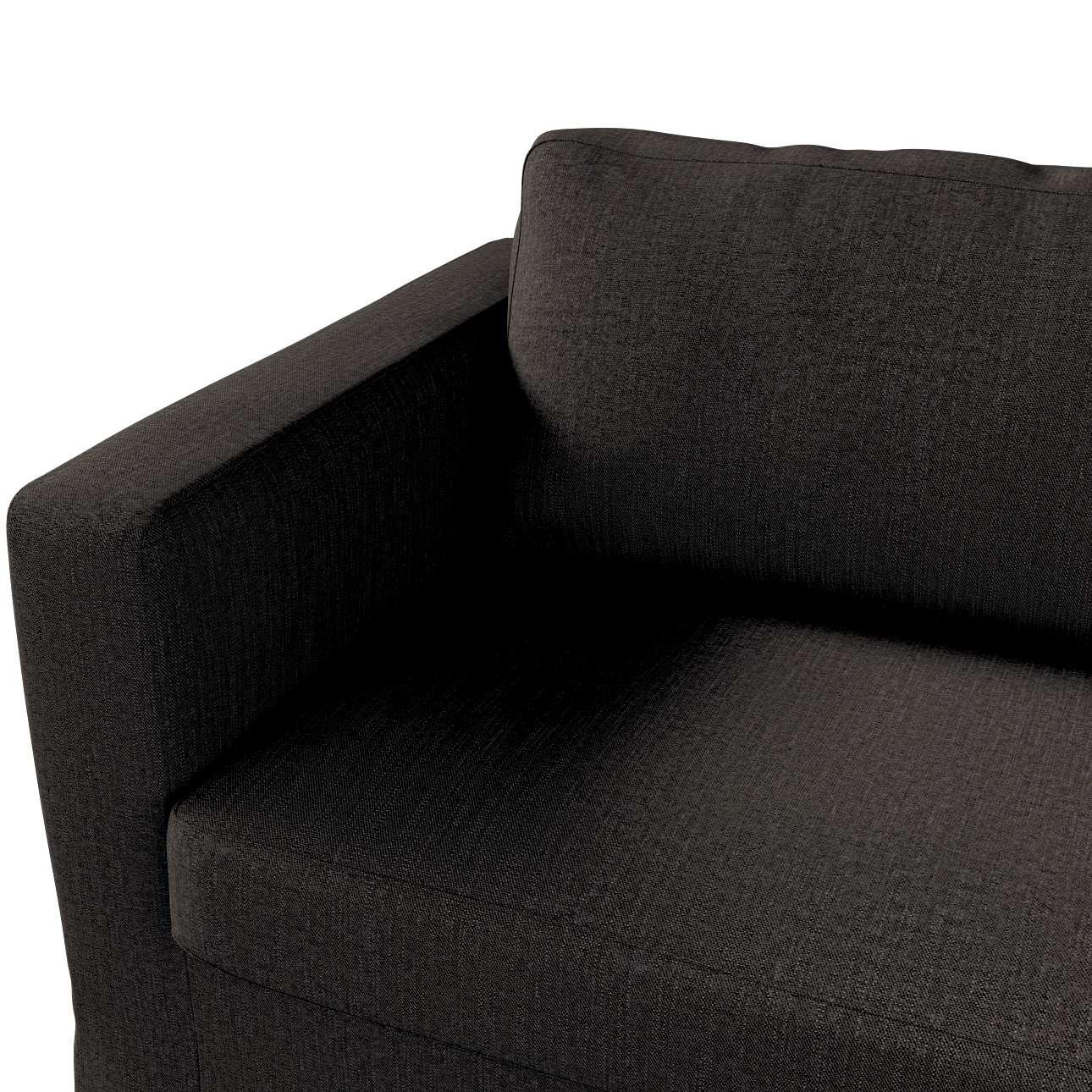 Karlstad 3-Sitzer Sofabezug nicht ausklappbar lang von der Kollektion Vintage, Stoff: 702-36