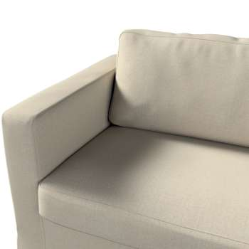 Floor length Karlstad 3-seater sofa cover in collection Etna, fabric: 702-39