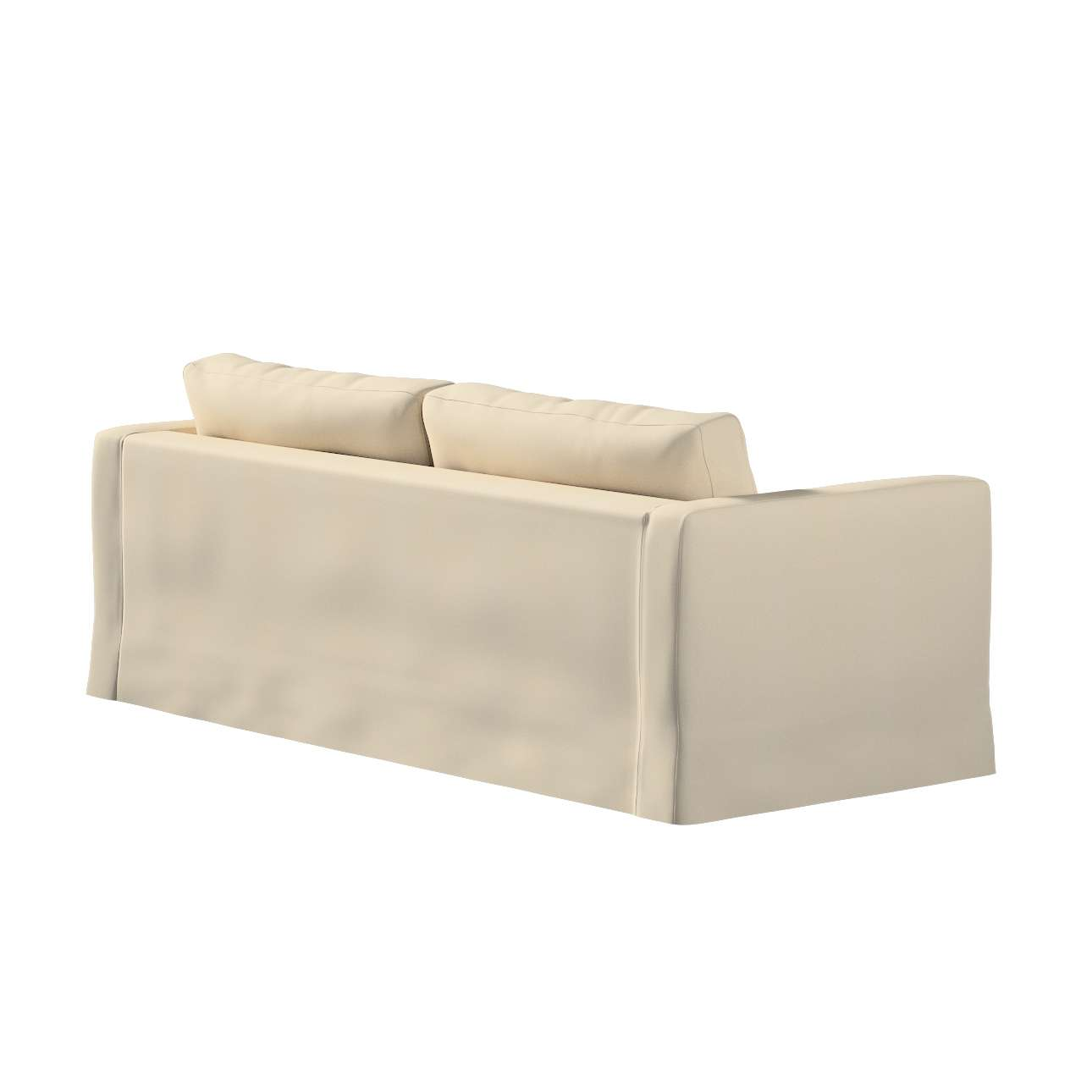 Floor length Karlstad 3-seater sofa cover in collection Madrid, fabric: 160-61