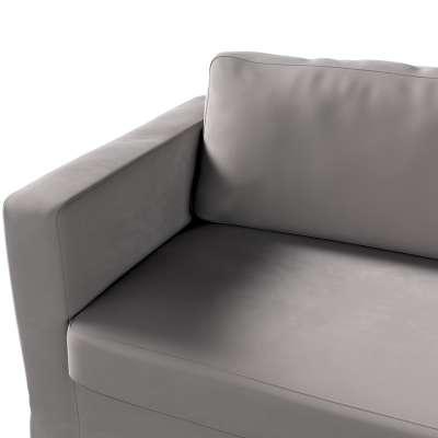 Potah na pohovku IKEA  Karlstad 3-místná, nerozkládací, dlouhý v kolekci Velvet, látka: 704-11