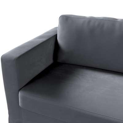 Potah na pohovku IKEA  Karlstad 3-místná, nerozkládací, dlouhý v kolekci Velvet, látka: 704-12