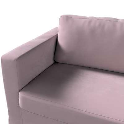 Pokrowiec na sofę Karlstad 3-osobową nierozkładaną, długi w kolekcji Velvet, tkanina: 704-14