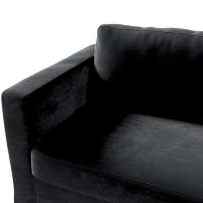 Hoes (lang) voor IKEA-Karlstad 3-zitsbank van de collectie Velvet, Stof: 704-17