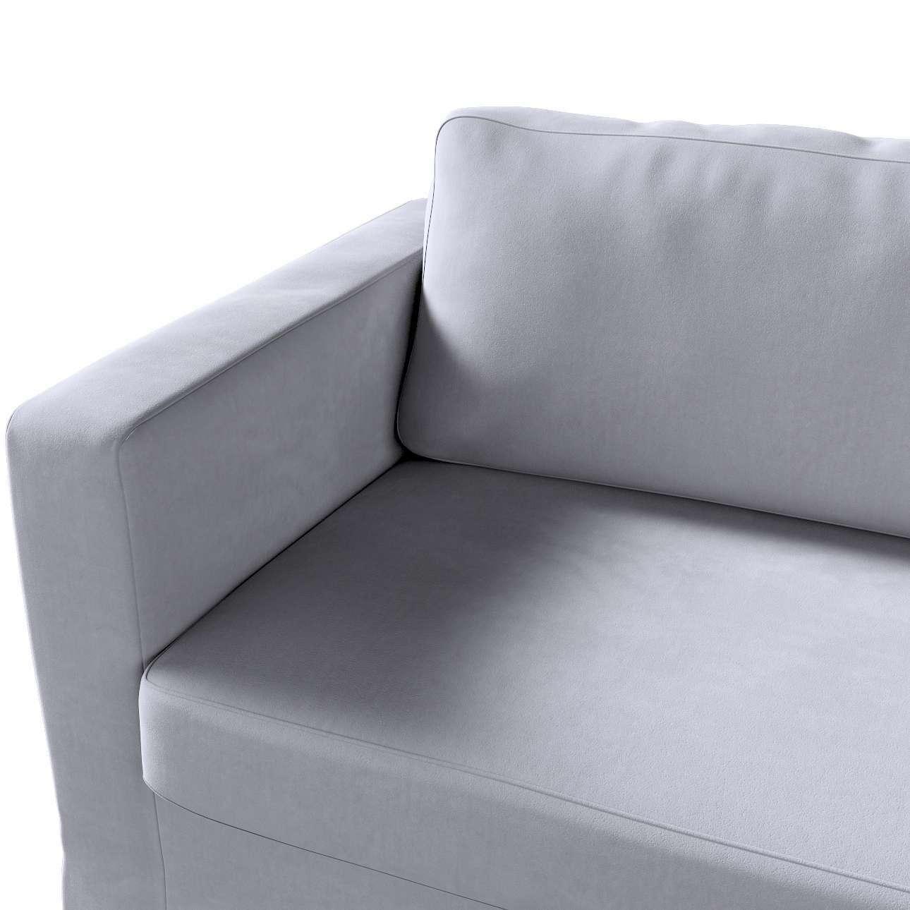 Potah na pohovku IKEA  Karlstad 3-místná, nerozkládací, dlouhý v kolekci Velvet, látka: 704-24