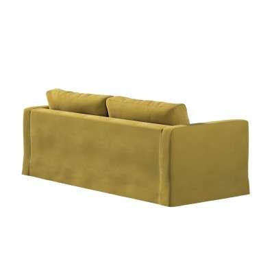 Potah na pohovku IKEA  Karlstad 3-místná, nerozkládací, dlouhý v kolekci Velvet, látka: 704-27