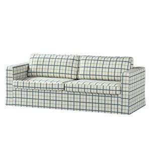 Karlstad 3-Sitzer Sofabezug nicht ausklappbar lang Sofahusse, Karlstad 3-Sitzer von der Kollektion Avinon, Stoff: 131-66