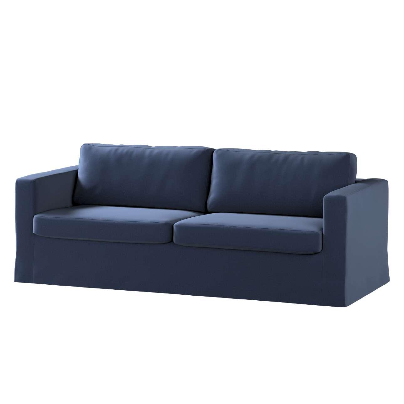 Potah na pohovku IKEA  Karlstad 3-místná, nerozkládací, dlouhý v kolekci Ingrid, látka: 705-39