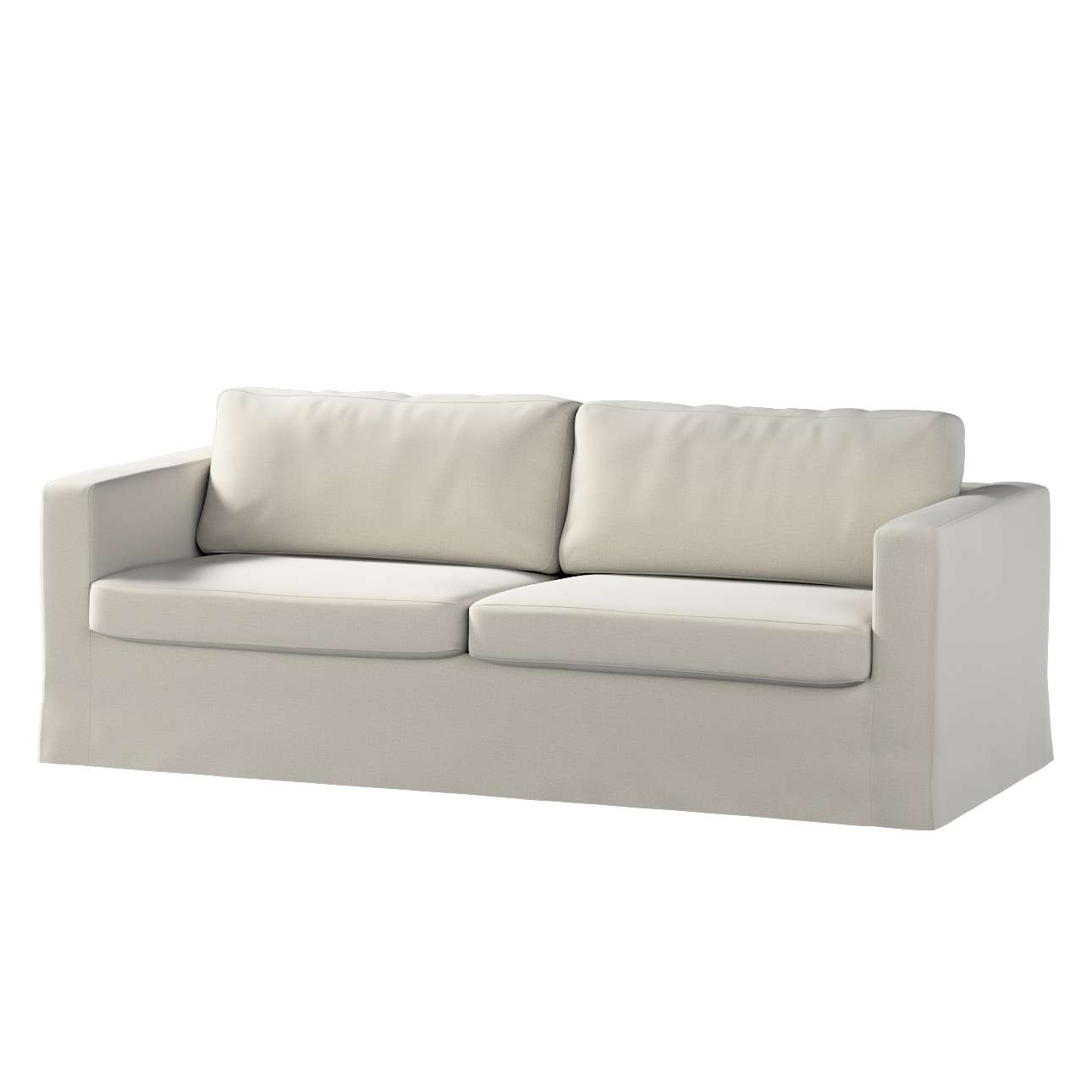 Potah na pohovku IKEA  Karlstad 3-místná, nerozkládací, dlouhý v kolekci Ingrid, látka: 705-40