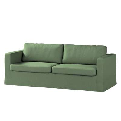 Potah na pohovku IKEA  Karlstad 3-místná, nerozkládací, dlouhý v kolekci Amsterdam, látka: 704-44