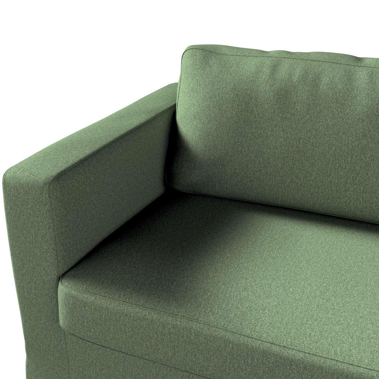 Pokrowiec na sofę Karlstad 3-osobową nierozkładaną, długi w kolekcji Amsterdam, tkanina: 704-44