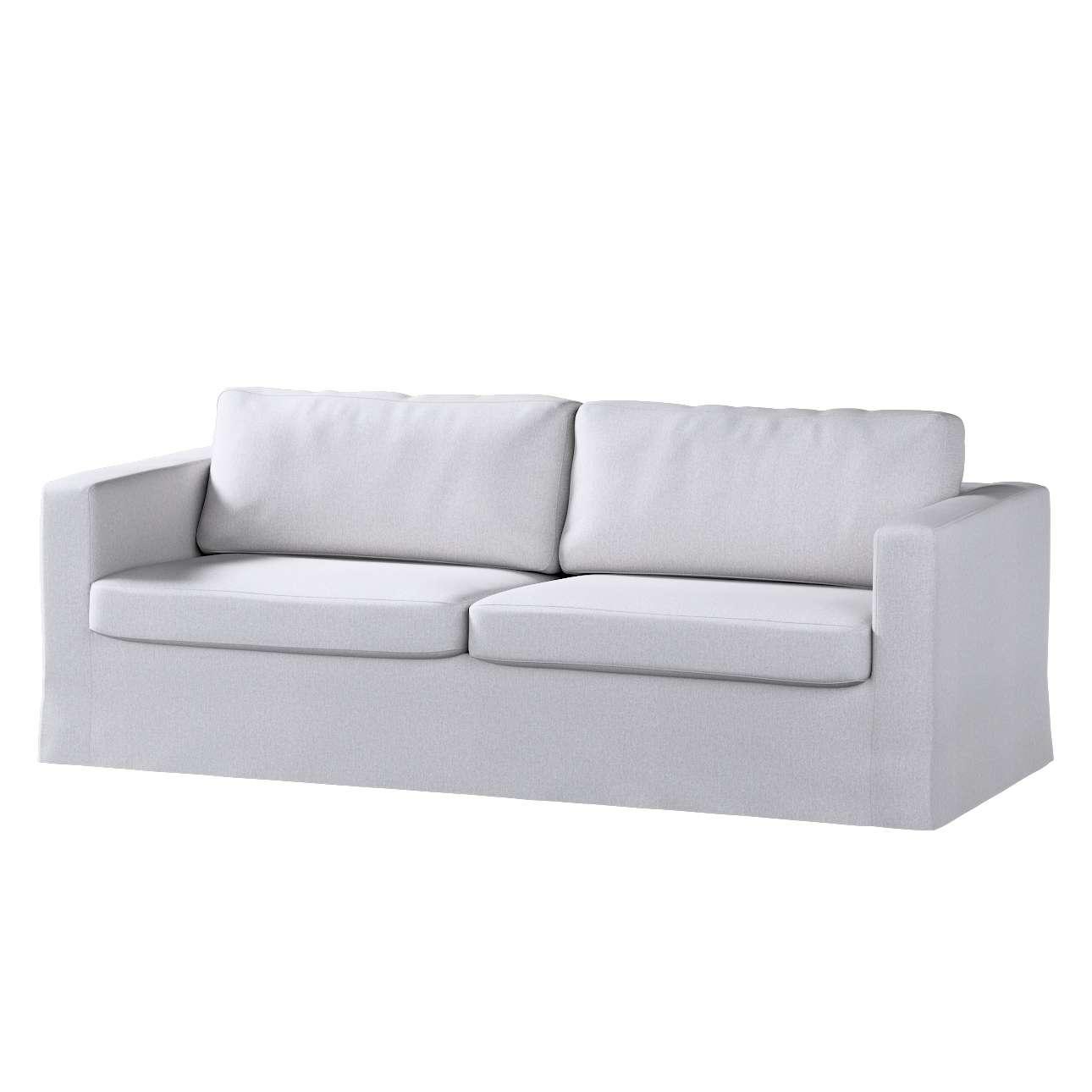 Potah na pohovku IKEA  Karlstad 3-místná, nerozkládací, dlouhý v kolekci Amsterdam, látka: 704-45
