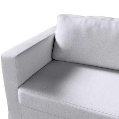 Pokrowiec na sofę Karlstad 3-osobową nierozkładaną, długi w kolekcji Amsterdam, tkanina: 704-45