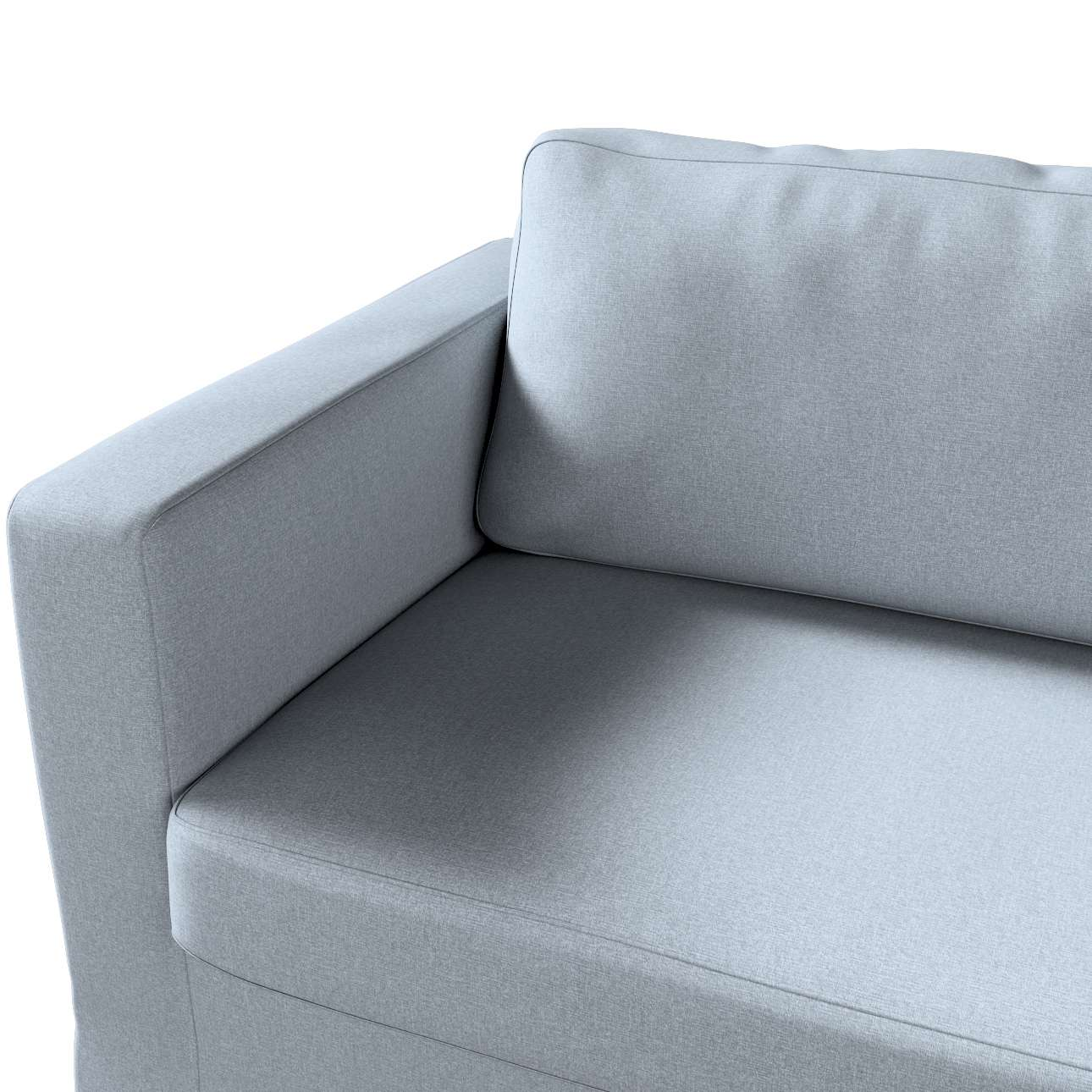 Pokrowiec na sofę Karlstad 3-osobową nierozkładaną, długi w kolekcji Amsterdam, tkanina: 704-46