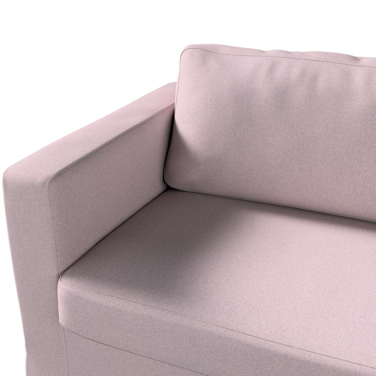 Pokrowiec na sofę Karlstad 3-osobową nierozkładaną, długi w kolekcji Amsterdam, tkanina: 704-51