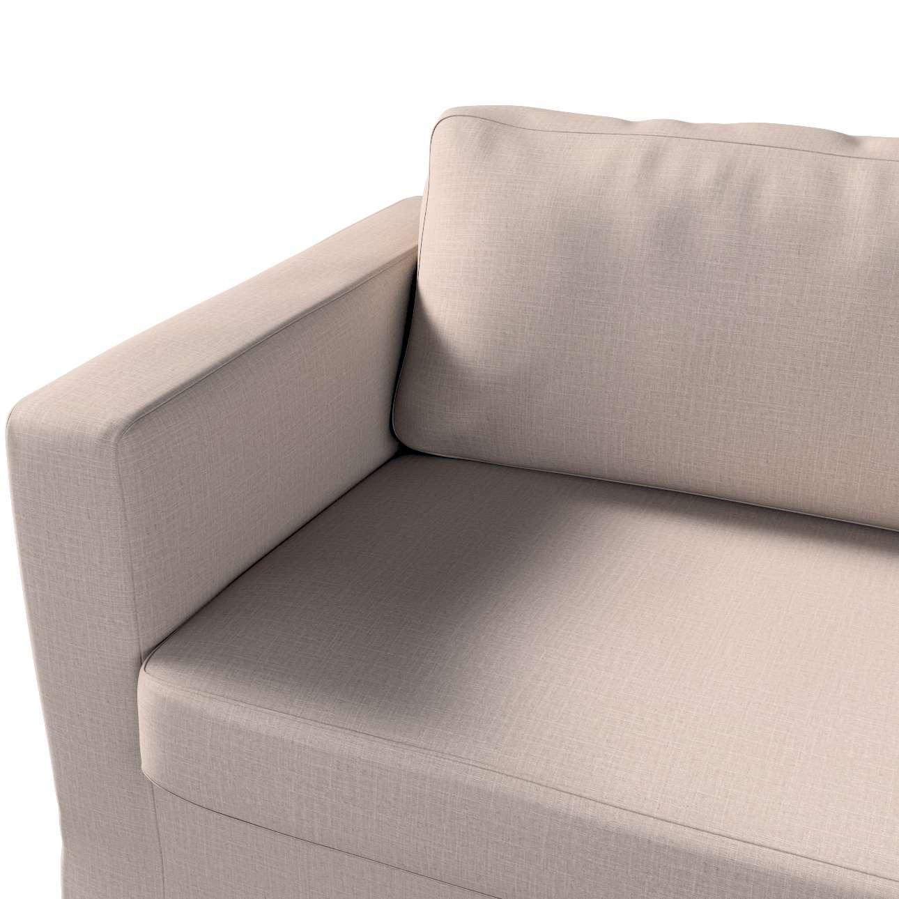 Pokrowiec na sofę Karlstad 3-osobową nierozkładaną, długi w kolekcji Living II, tkanina: 160-85