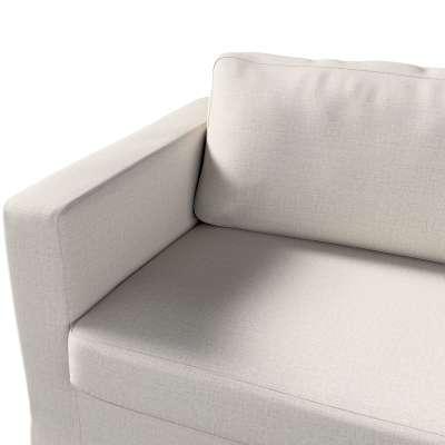 Pokrowiec na sofę Karlstad 3-osobową nierozkładaną, długi w kolekcji Living, tkanina: 161-00