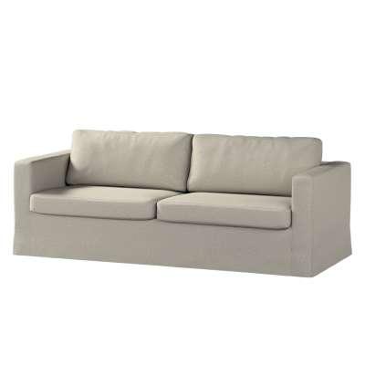 Floor length Karlstad 3-seater sofa cover