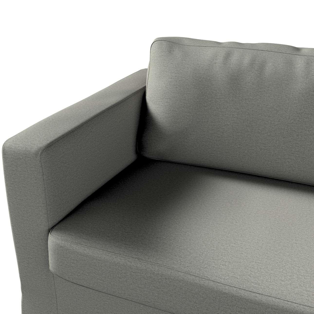 Pokrowiec na sofę Karlstad 3-osobową nierozkładaną, długi w kolekcji Etna, tkanina: 161-25