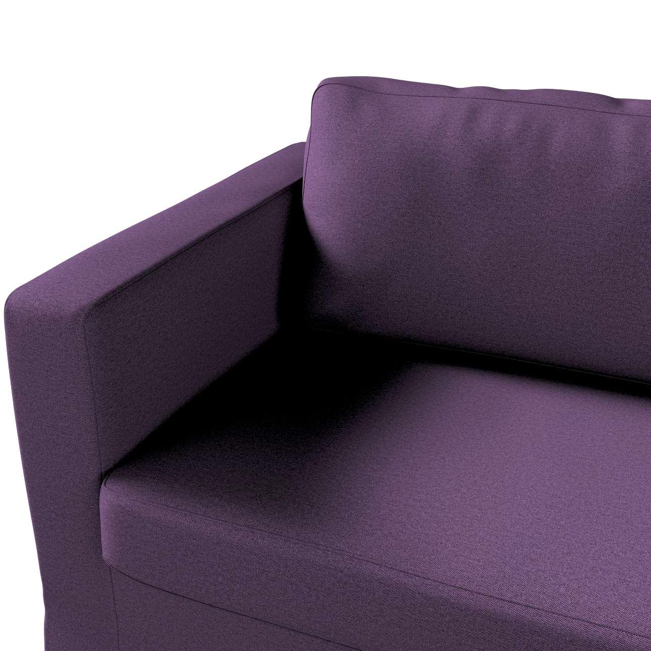 Pokrowiec na sofę Karlstad 3-osobową nierozkładaną, długi w kolekcji Etna, tkanina: 161-27