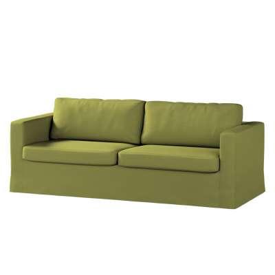 Potah na pohovku IKEA  Karlstad 3-místná, nerozkládací, dlouhý v kolekci Living II, látka: 161-13