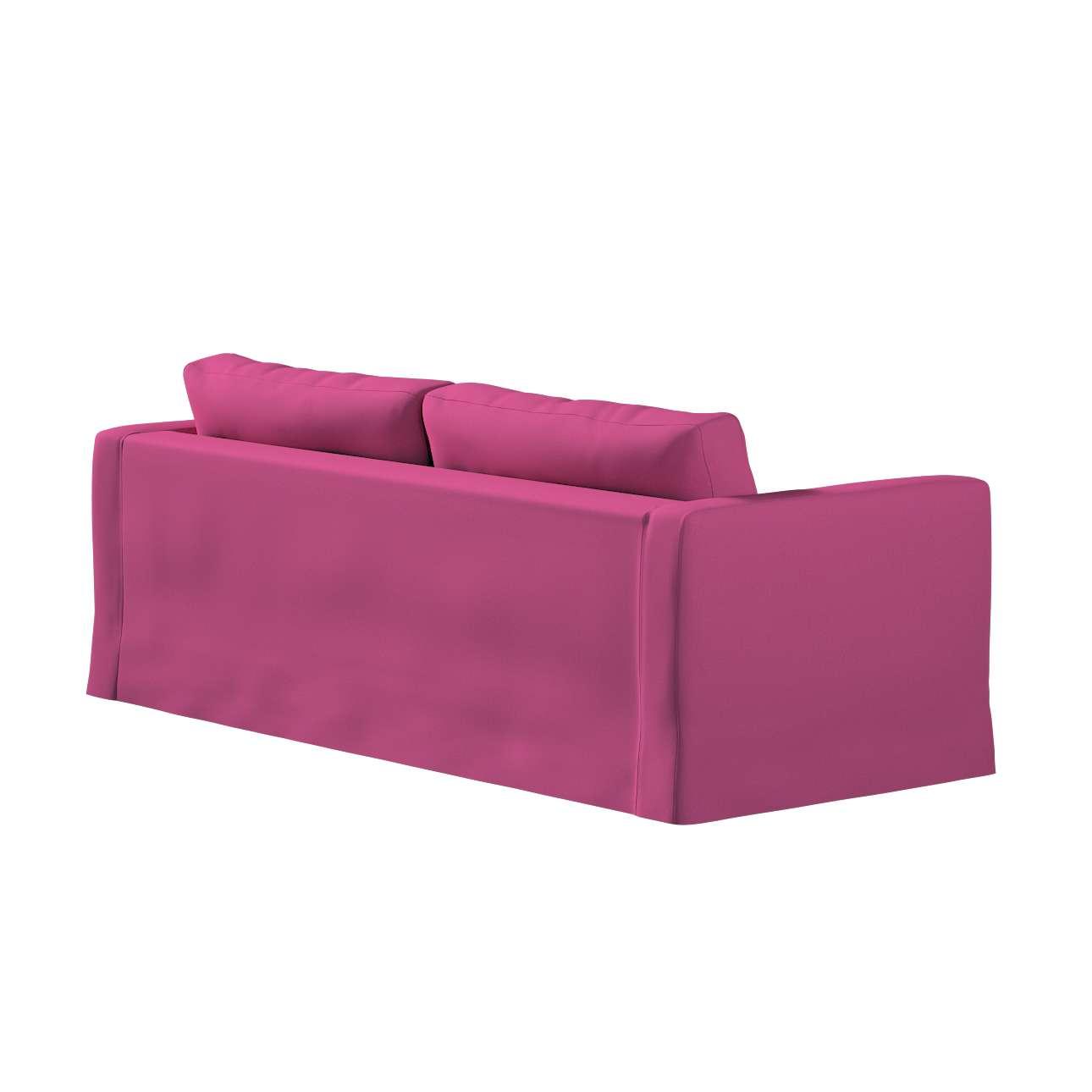 Pokrowiec na sofę Karlstad 3-osobową nierozkładaną, długi w kolekcji Living, tkanina: 161-29