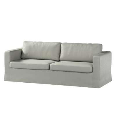 Pokrowiec na sofę Karlstad 3-osobową nierozkładaną, długi w kolekcji Bergen, tkanina: 161-83