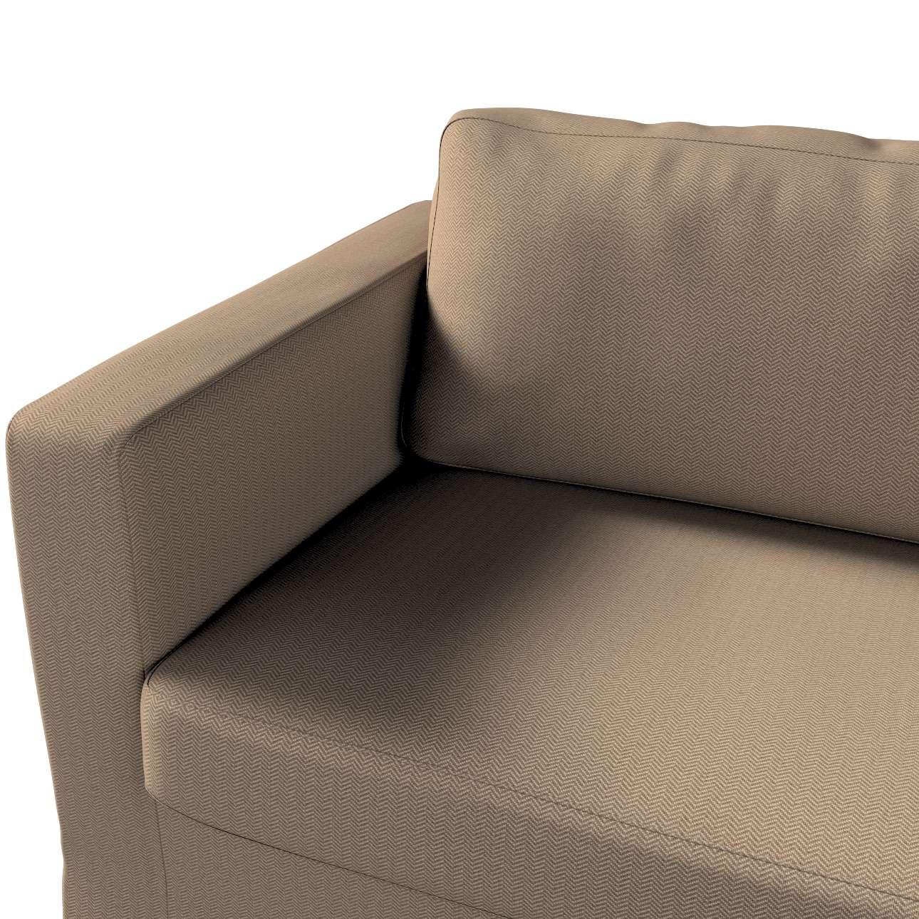 Pokrowiec na sofę Karlstad 3-osobową nierozkładaną, długi w kolekcji Bergen, tkanina: 161-85