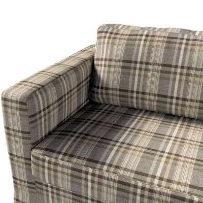 Potah na pohovku IKEA  Karlstad 3-místná, nerozkládací, dlouhý v kolekci Edinburgh, látka: 703-17
