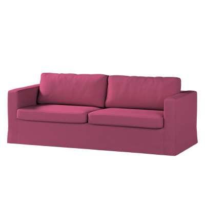 Potah na pohovku IKEA  Karlstad 3-místná, nerozkládací, dlouhý v kolekci Living, látka: 160-44