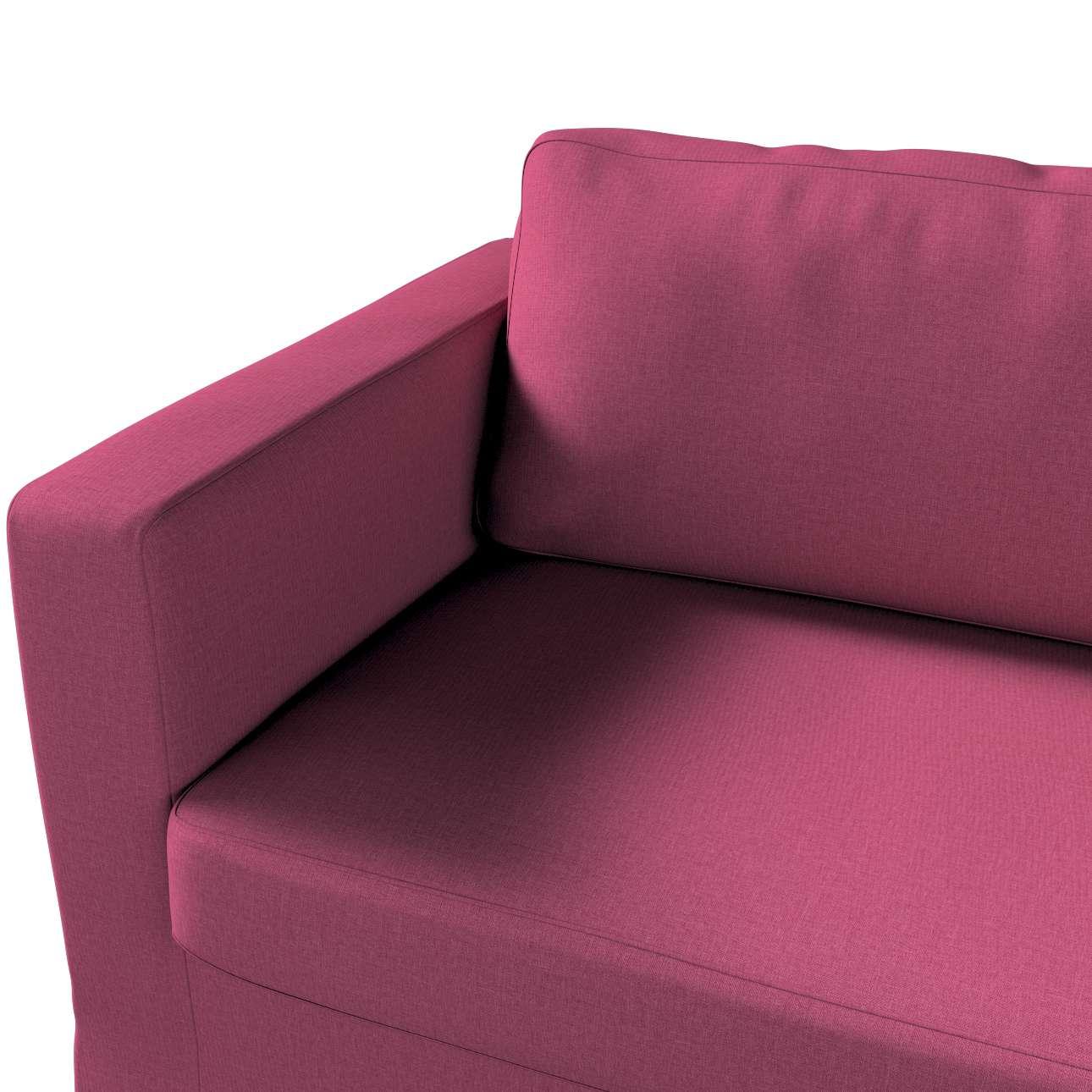 Pokrowiec na sofę Karlstad 3-osobową nierozkładaną, długi w kolekcji Living, tkanina: 160-44