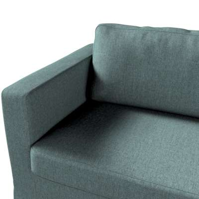 Pokrowiec na sofę Karlstad 3-osobową nierozkładaną, długi w kolekcji City, tkanina: 704-85