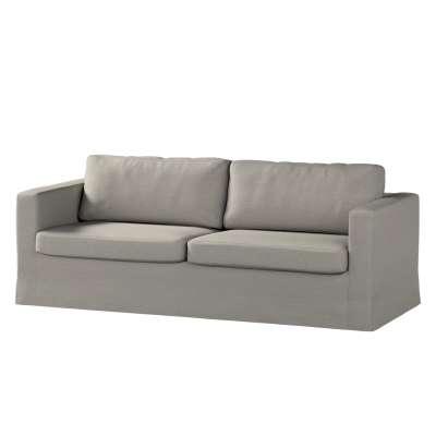 Pokrowiec na sofę Karlstad 3-osobową nierozkładaną, długi w kolekcji Madrid, tkanina: 161-91
