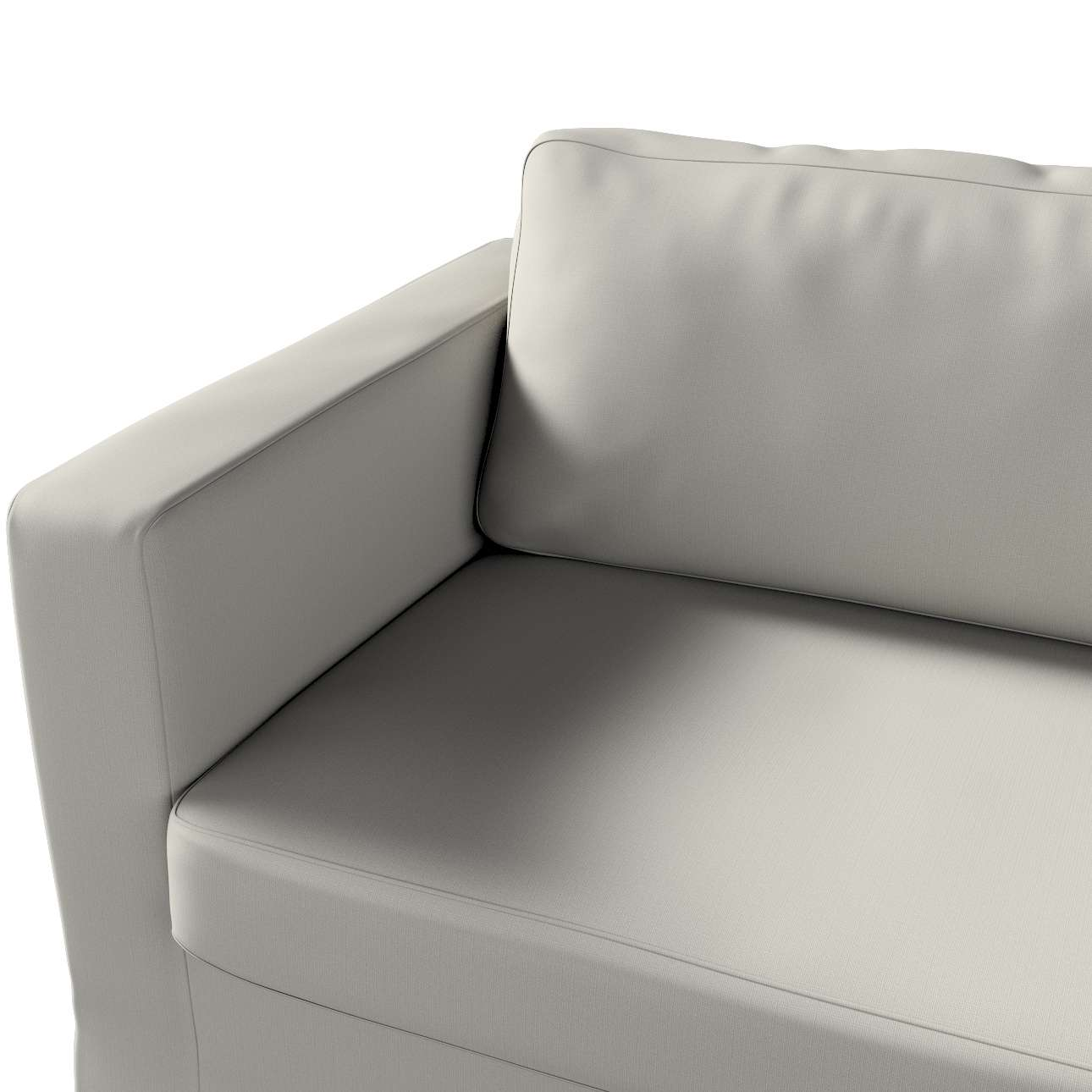 Pokrowiec na sofę Karlstad 3-osobową nierozkładaną, długi w kolekcji Living, tkanina: 161-54