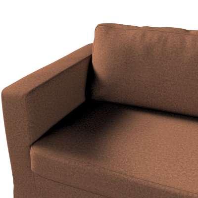 Pokrowiec na sofę Karlstad 3-osobową nierozkładaną, długi w kolekcji Living, tkanina: 161-65