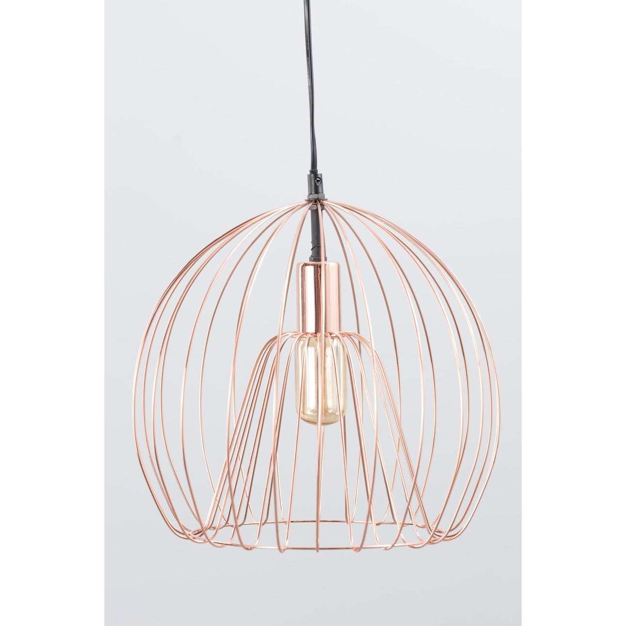 Závěsná lampa Brooklyn Copper průměr 31cm