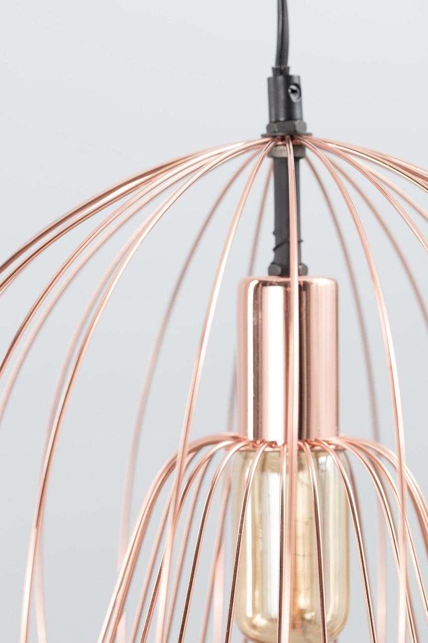 Lampa wisząca Brooklyn Copper śr. 31cm