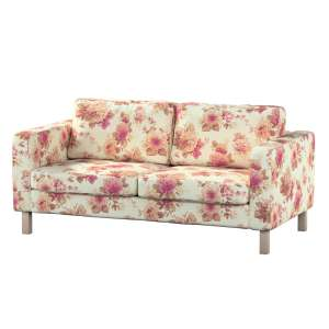 Pokrowiec na sofę Karlstad 2-osobową nierozkładaną krótki Sofa Karlstad 2-osobowa w kolekcji Mirella, tkanina: 141-06