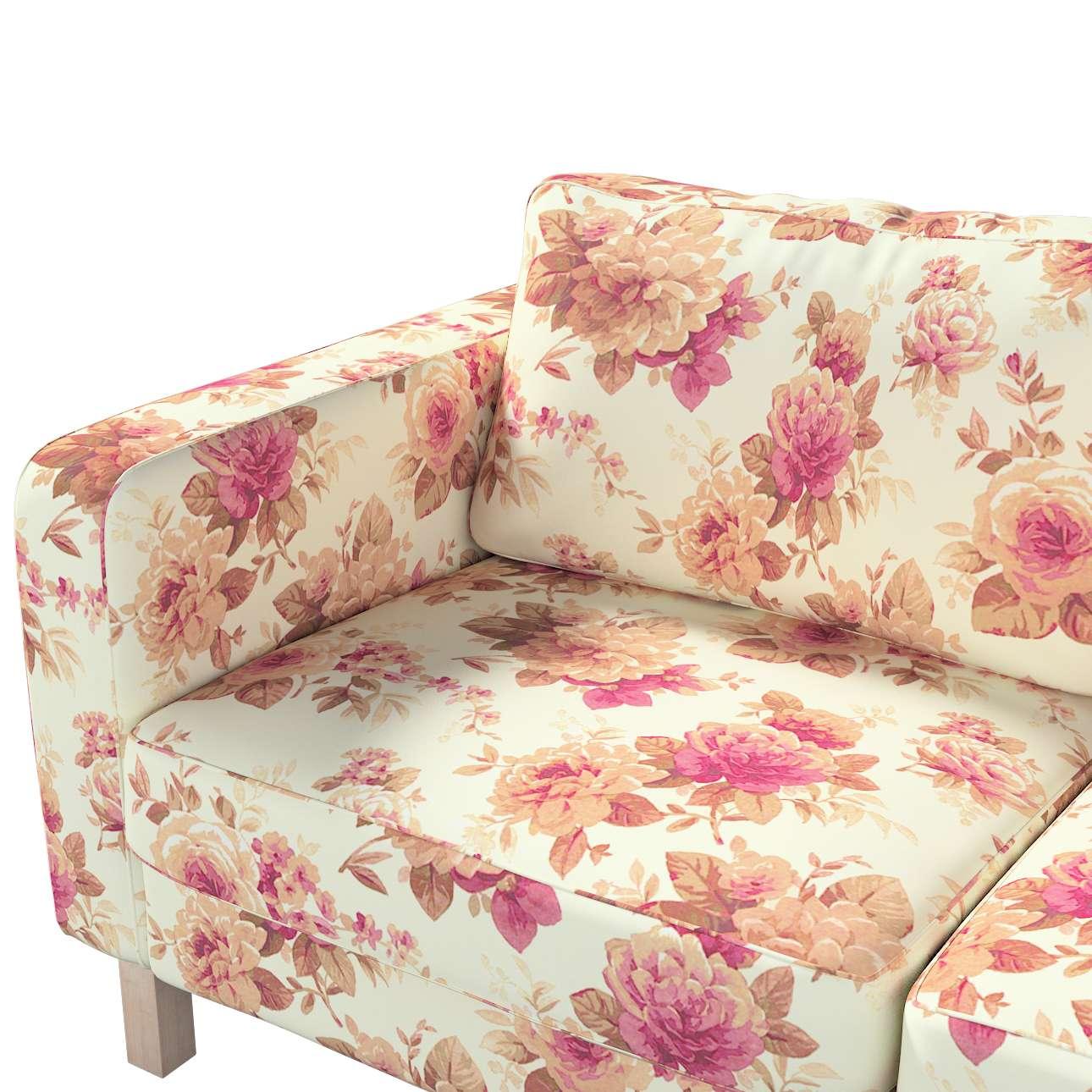 Pokrowiec na sofę Karlstad 2-osobową nierozkładaną krótki w kolekcji Londres, tkanina: 141-06