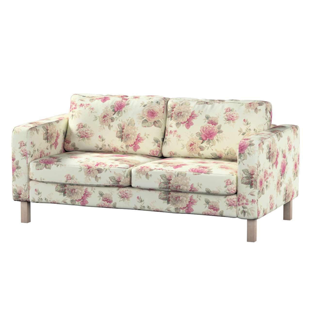 Karlstad 2-Sitzer Sofabezug nicht ausklappbar Sofahusse, Karlstad 2-Sitzer von der Kollektion Mirella, Stoff: 141-07