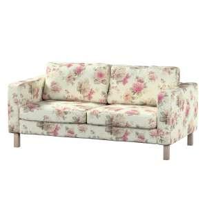 Pokrowiec na sofę Karlstad 2-osobową nierozkładaną krótki Sofa Karlstad 2-osobowa w kolekcji Mirella, tkanina: 141-07