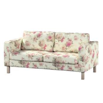 Pokrowiec na sofę Karlstad 2-osobową nierozkładaną krótki w kolekcji Mirella, tkanina: 141-07