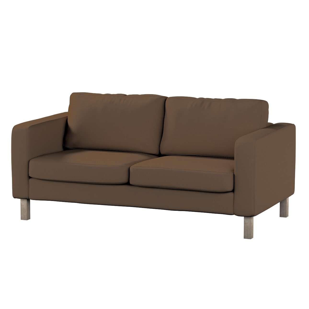 Potah na pohovku IKEA  Karlstad 2-místná, nerozkládací, krátký pohovka Karlstad 2-místná v kolekci Cotton Panama, látka: 702-02