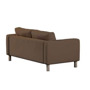 Karlstad 2-Sitzer Sofabezug nicht ausklappbar von der Kollektion Cotton Panama, Stoff: 702-02