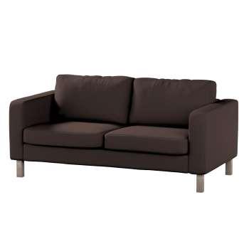 Pokrowiec na sofę Karlstad 2-osobową nierozkładaną krótki Sofa Karlstad 2-osobowa w kolekcji Cotton Panama, tkanina: 702-03