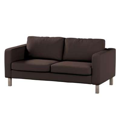 Pokrowiec na sofę Karlstad 2-osobową nierozkładaną krótki w kolekcji Cotton Panama, tkanina: 702-03