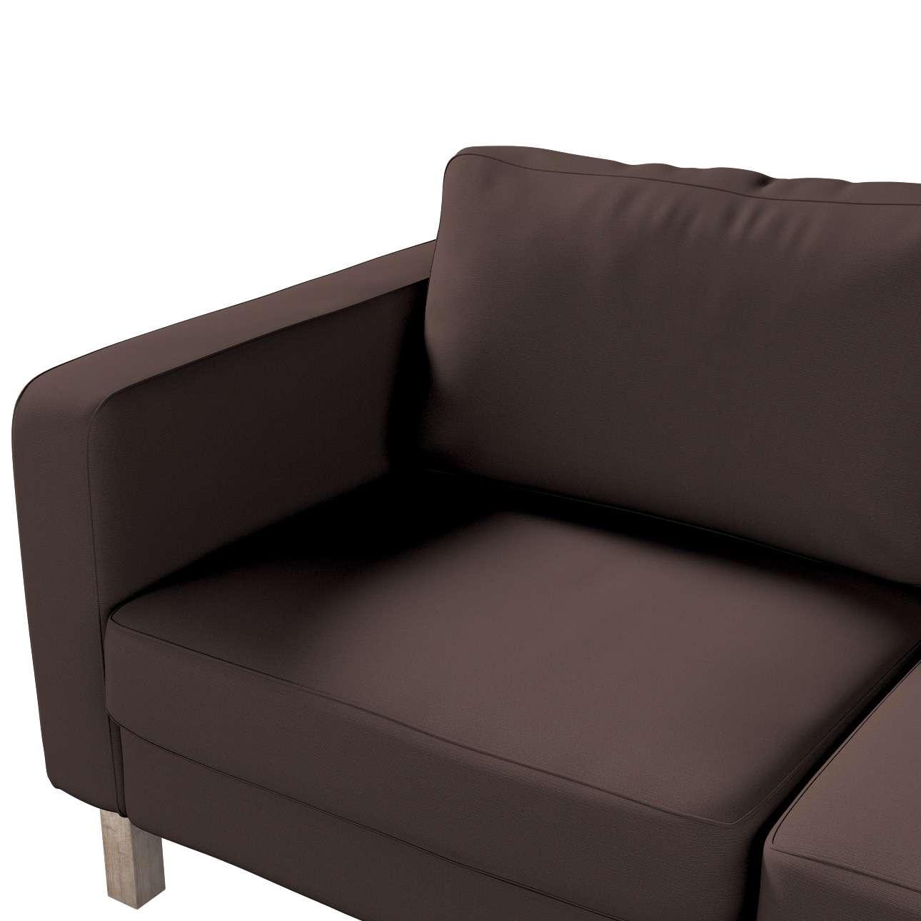 Potah na pohovku IKEA  Karlstad 2-místná, nerozkládací, krátký v kolekci Cotton Panama, látka: 702-03
