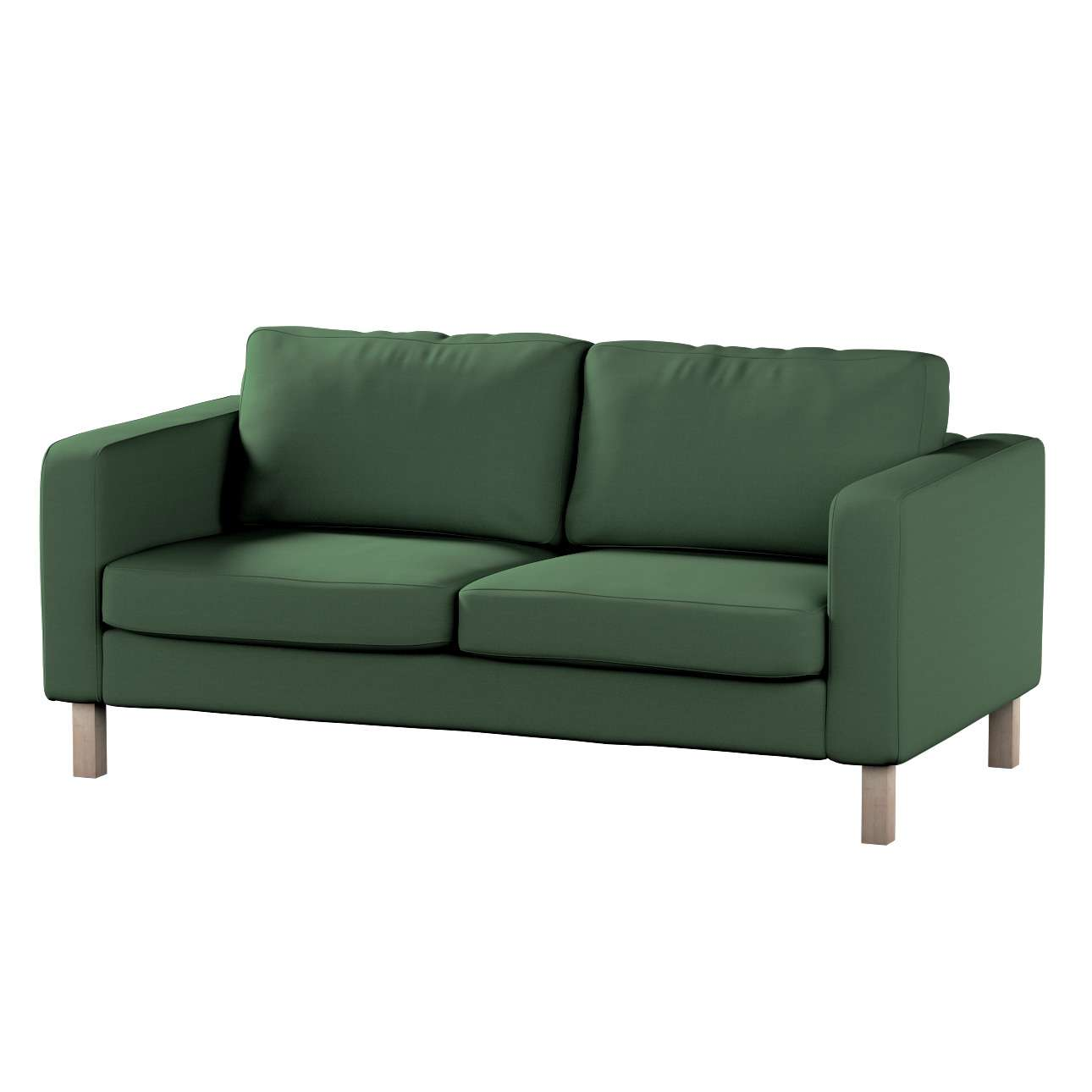 Karlstad 2-seater sofa cover in collection Panama Cotton, fabric: 702-06